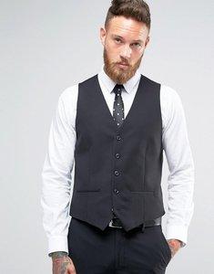 Read more about Farah willis twill waistcoat - black