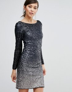 Read more about Coast ella all over sequin long sleeved dress - ink 20