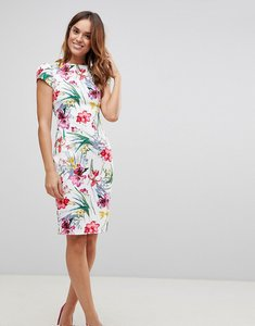 Read more about Paper dolls print pleat dress - multi