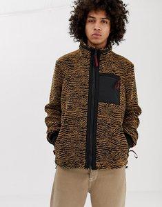 80ba8ab99 majestic yankees fleece letterman jacket exclusive to asos - Shop ...