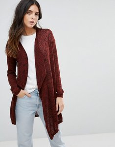 Read more about Vero moda waterfall cardigan - fired brickblack