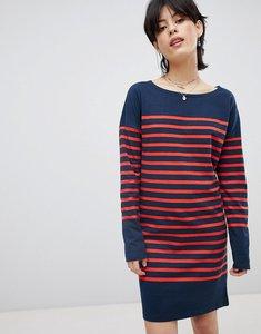 Read more about Maison scotch breton stripe sweat dress - 18 combo b