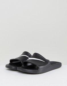 Read more about Nike kawa sliders in black 832528-001 - black