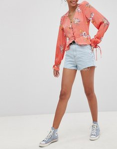 Read more about Glamorous denim shorts - light blue