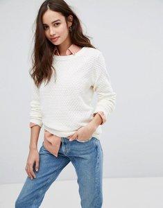 Read more about Vila open knit jumper - pristine