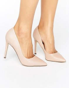 Read more about Call it spring gwydda blush heeled shoes - pink