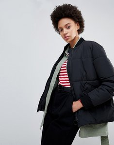 Read more about Parka london padded bomber jacket - black