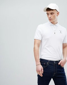 Read more about Hackett mr classic logo polo in white - 800