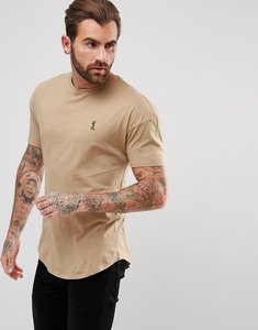 Read more about Religion t-shirt with drop shoulder - camel