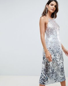 Read more about Asos design midi pencil dress in all over ombre sequin - ombre sequin