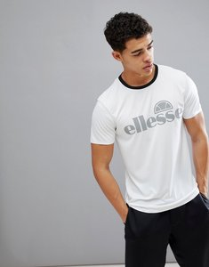Read more about Ellesse sport t-shirt with reflective logo in white - white
