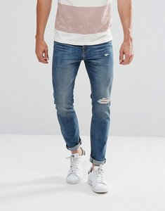 Read more about Levis 510 skinny fit grambs dx mid wash rips - grambs dx