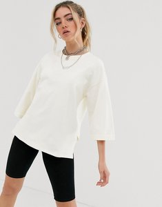 Read more about Noisy may 3 4 sleeve oversized sweatshirt