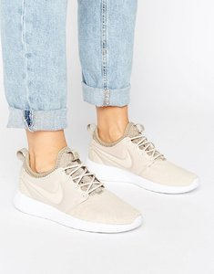Read more about Nike roshe two trainers in beige - beige