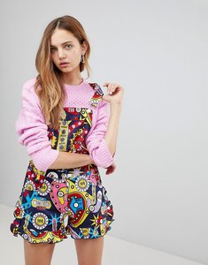 Read more about Love moschino surprises printed playsuit - 0001