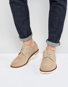 Read more about Polo ralph lauren torian suede derby shoes - beige