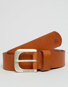 Read more about G-star zed leather belt in tan - tan