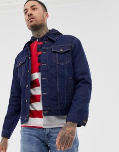 Read more about Tommy hilfiger blaine padded trucker check jacket