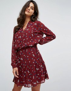 Read more about Y a s ditsy floral printed dress - multi