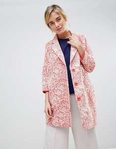 Read more about See u soon oversize coat - red