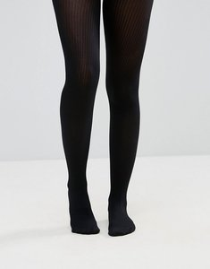 Read more about Asos fine rib tights - black