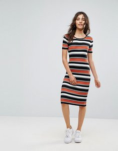 Read more about Oeuvre stripe dress - red