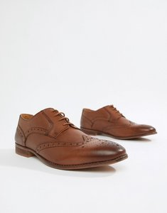Read more about Kg by kurt geiger brogues in tan leather - tan