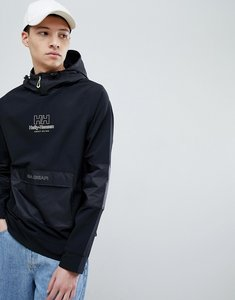 Read more about Sweet sktbs x helly hansen hoodie with front pocket in black - black