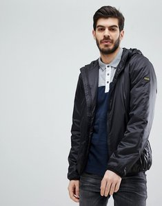 Read more about Barbour international draft quilted jacket in black - black