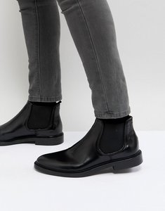 Read more about Walk london darcy leather chelsea boots in black - black