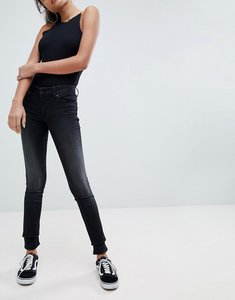 Read more about Salsa wonder push up mid rise skinny jean - washed black