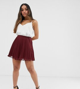Read more about Asos design petite pleated mini skirt