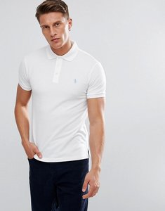 Read more about Polo ralph lauren stretch polo shirt in white in slim fit - white