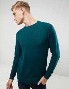 Read more about Esprit soft raglan sweatshirt - green 375