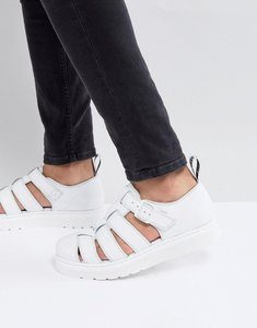 Read more about Dr martens vibal closed sandals in white - white