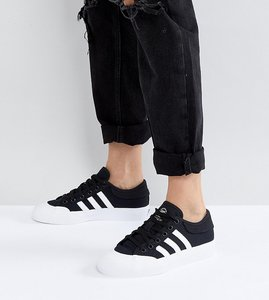 Read more about Adidas skateboarding matchcourt trainers - black