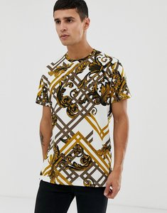 Read more about Versace jeans t-shirt with all over baroque print
