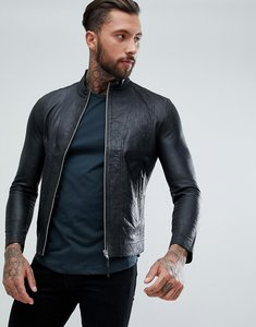 Read more about Religion leather jacket - black
