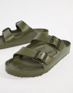 Read more about Birkenstock arizona eva sandals in khaki - green
