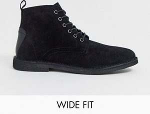 a91a41c3b05 asos desert boots in black suede wide fit available - Shop asos ...