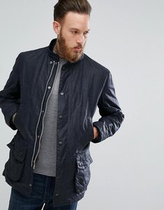Read more about Barbour heritage fallow aged wax jacket in navy - navy