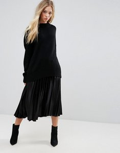 Read more about B young pleated skirt - black
