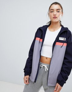 Read more about New balance colourblock windbreaker jacket in lilac - lilac