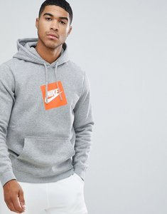 Read more about Nike box logo hoodie in grey 928719-063 - grey