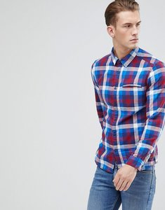 Read more about Esprit slim fit checked shirt - 430