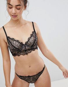 01a7be3a83a37 asos curve exclusive eyelash lace underwire bra 38d 44hh - Shop asos ...