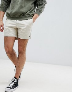 Read more about Polo ralph lauren prepster drawstring chino shorts in beige - new sand