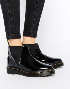 Read more about Dr martens bianca black patent chelsea boots - black patent