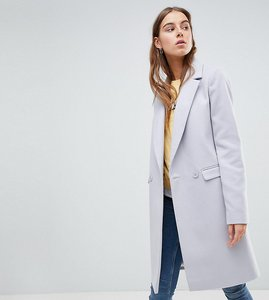 Read more about Asos tall classic slim coat - grey