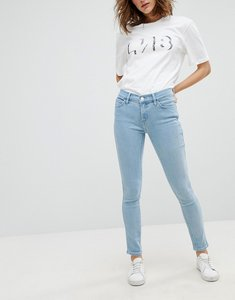 Read more about Levi s line 8 mid rise super skinny jean - l8 blane